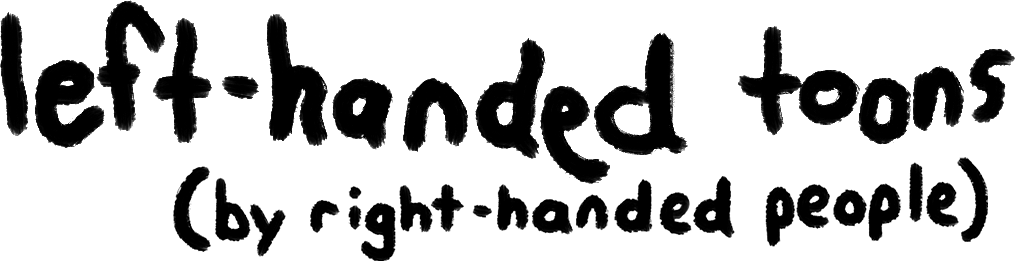 Left-Handed Toons Front Page